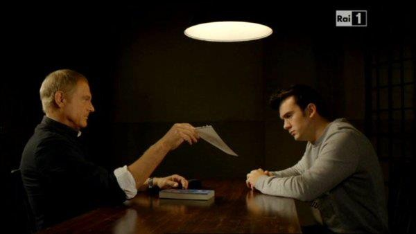 Marco Iannitello e Terence Hill in Don Matteo 8