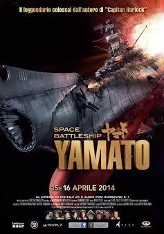 Space Battleship Yamato: la locandina italiana