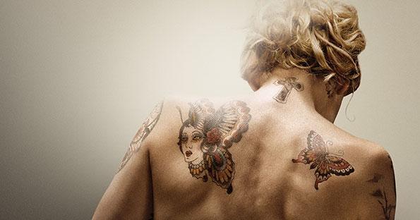 The Broken Circle Breakdown: la schiena tatuata di Veerle Baetens