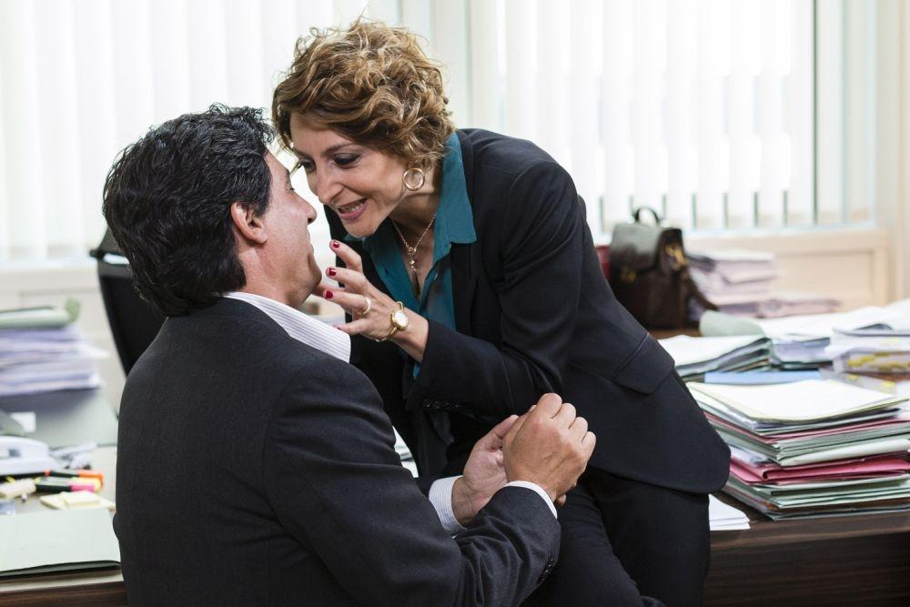 Un matrimonio da favola: Paola Minaccioni in una scena del film con Emilio Solfrizzi