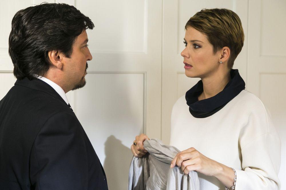 Un matrimonio da favola: Ricky Memphis con Andrea Osvart in una scena