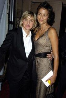 Una foto di Alexandra Hedison con Ellen DeGeneres, sua ex-fidanzata