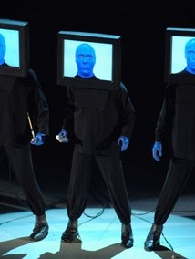 Una foto di Blue Man Group