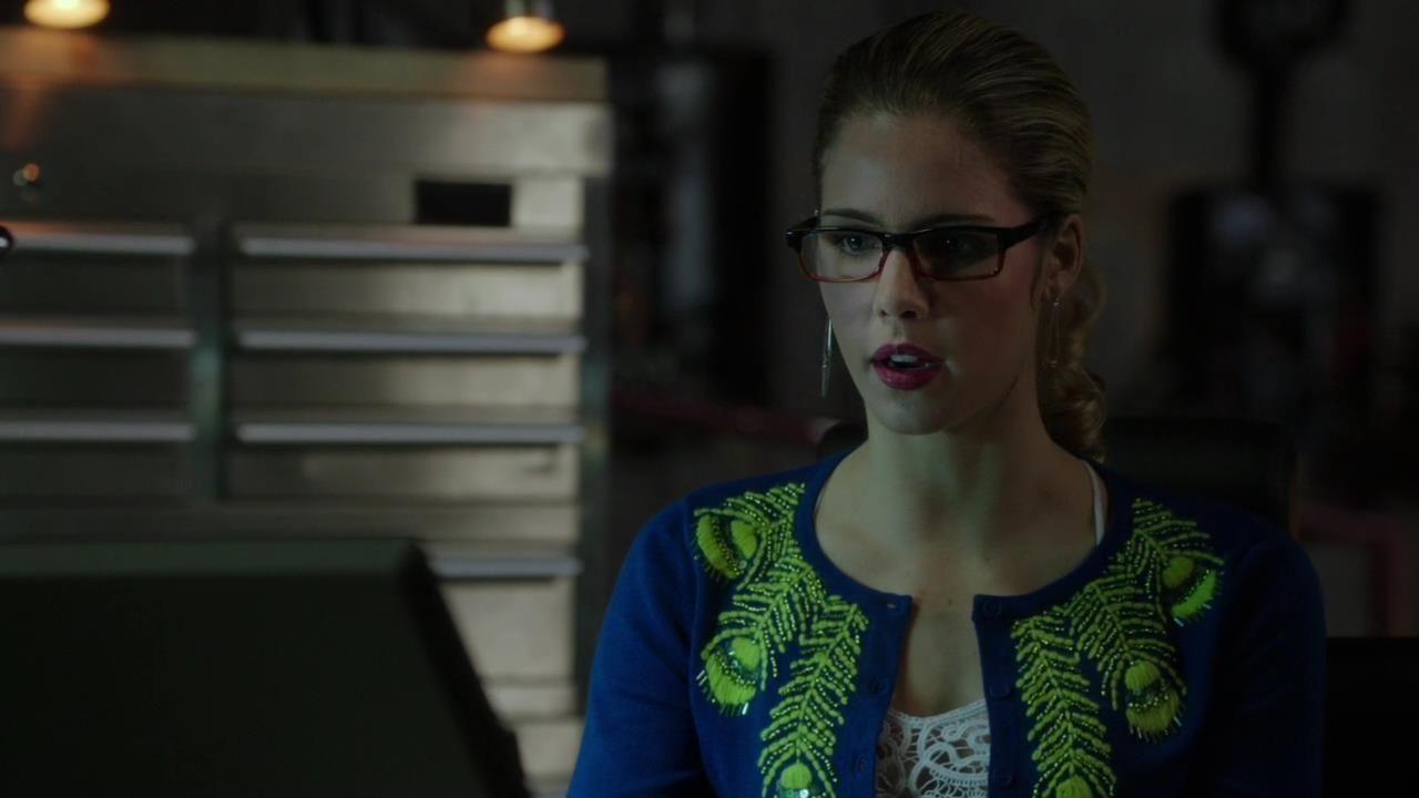 Arrow: Emily Bett Rickards nell'episodio Intrusione, della prima stagione