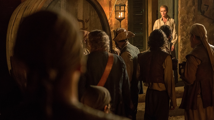 Black Sails: Hannah New nel sesto episodio della prima stagione