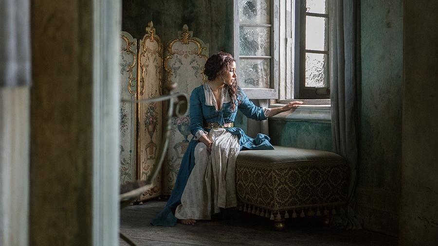 Black Sails: Jessica Parker Kennedy in una scena del settimo episodio della prima stagione