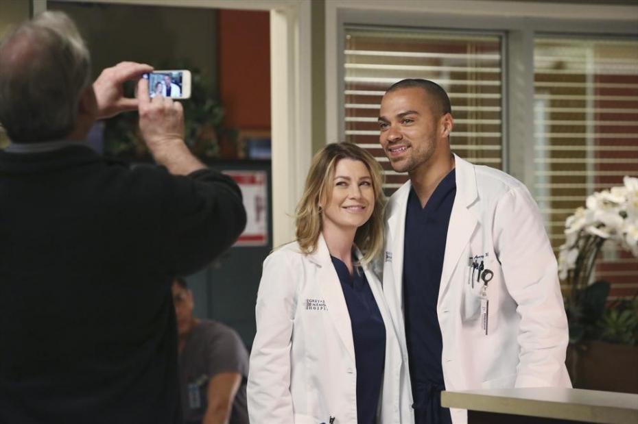 Grey's Anatomy: Jesse Williams ed Ellen Pompeo nell'episodio Do You Know?