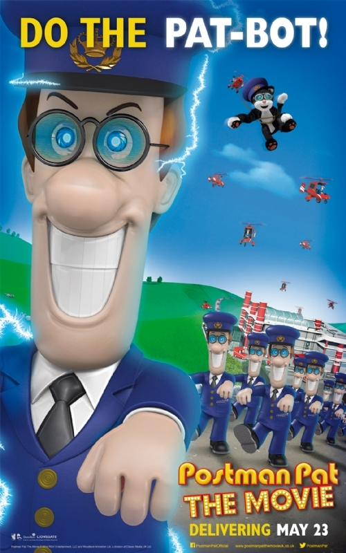 Postman Pat: The Movie: la locandina del film