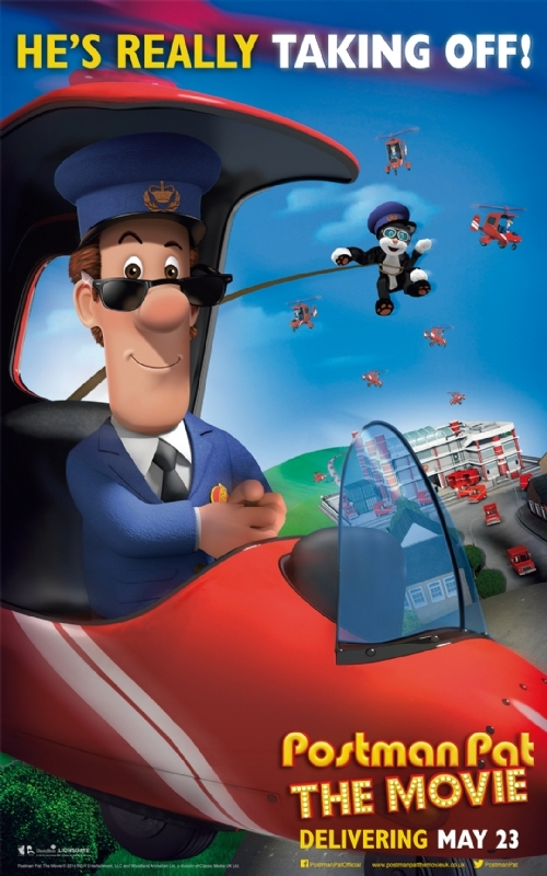 Postman Pat: The Movie: un simpatico poster del film