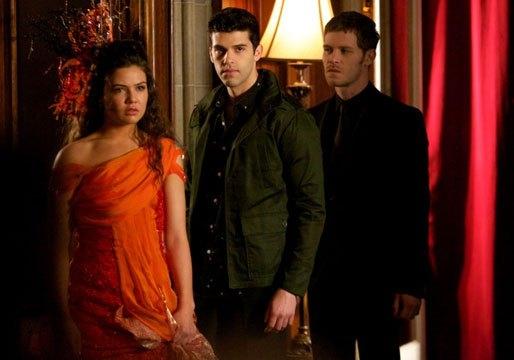 The Originals: Danielle Campbell, Joseph Morgan e Steven Krueger nell'episodio The Big Uneasy