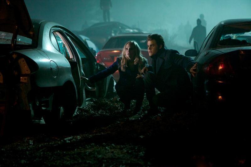 The Vampire Diaries: Paul Wesley e Candice Accola nell'episodio Rescue Me