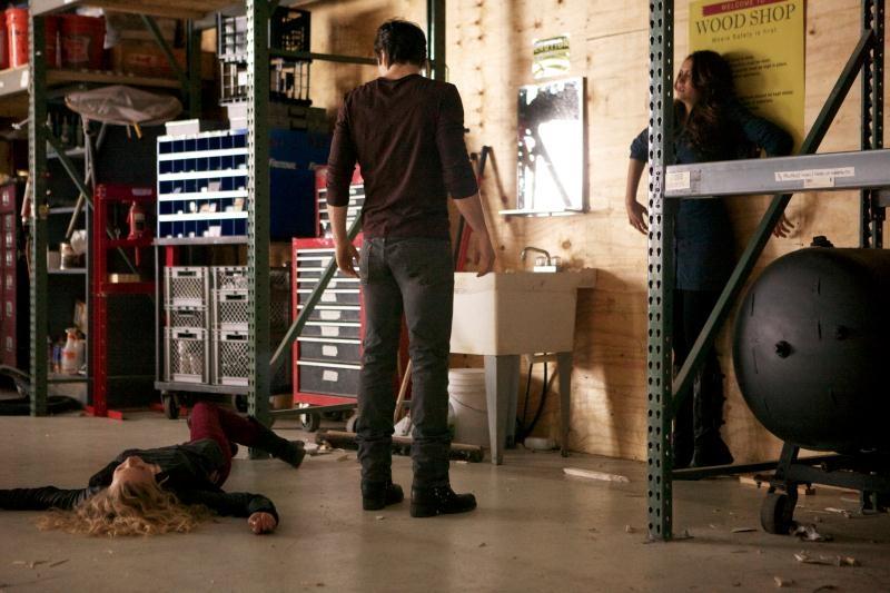 The Vampire Diaries: una scena dell'episodio Rescue Me