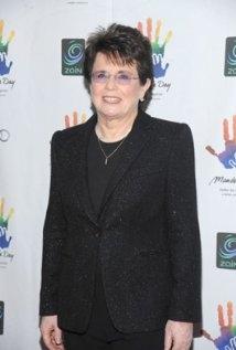 Una foto di Billie Jean King