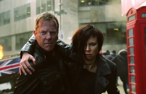24: Live Another Day, Kiefer Sutherland e Mary Lynn Rajskub in un'immagine