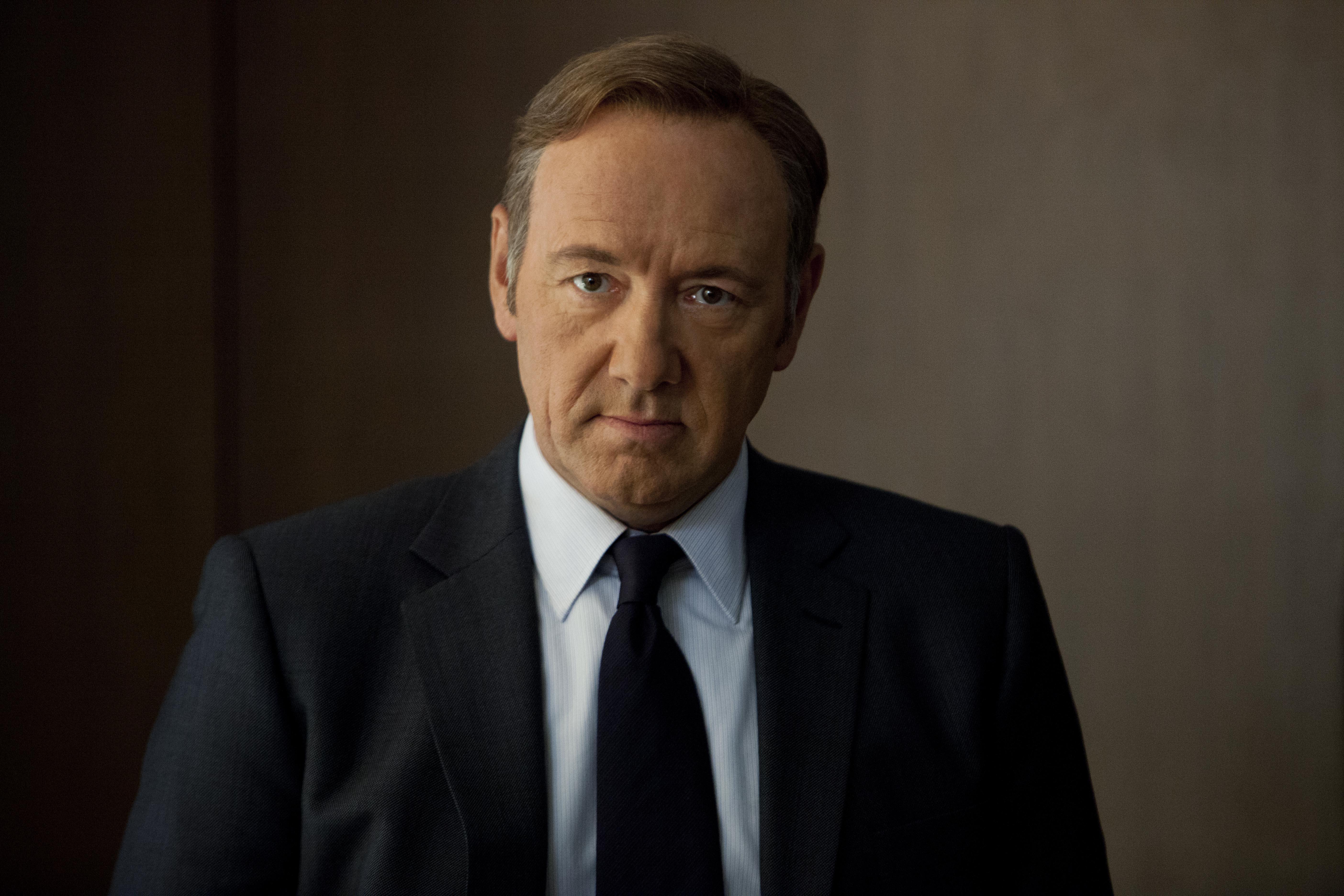 House of Cards: Kevin Spacey in un episodio della serie