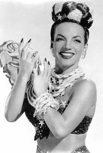 Una foto di Carmen Miranda