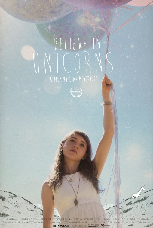 I Believe in Unicorns: la locandina del film