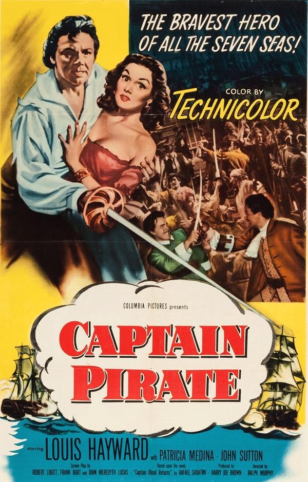 Il corsaro: la locandina del film