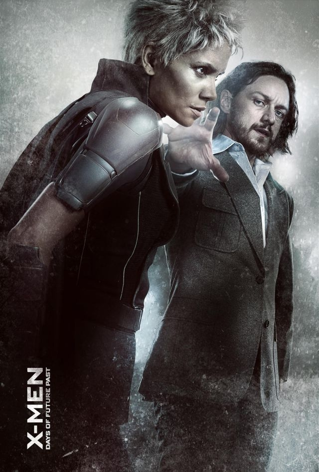 X-Men: Days Of Future Past: il character poster di Halle Berry e James McAvoy