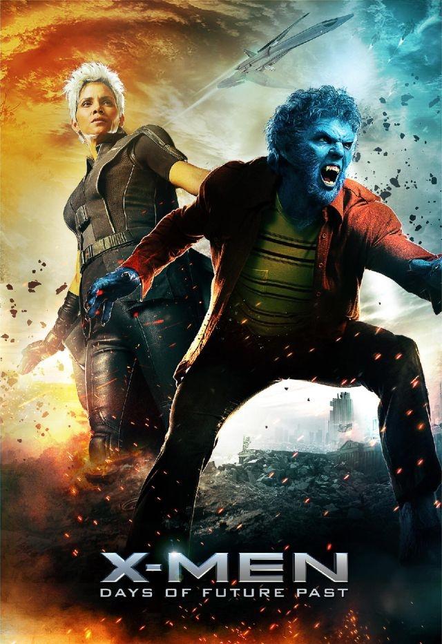 X-Men: Days Of Future Past: il character poster di Halle Berry e Nicholas Hoult
