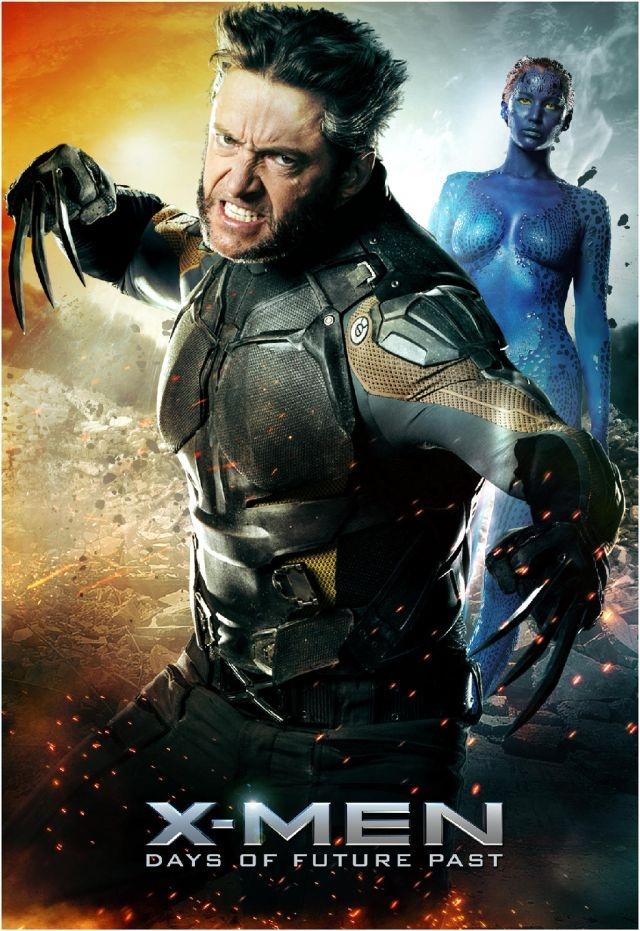 X-Men: Giorni di un futuro passato: Character poster dedicato a Hugh Jackman e Jennifer Lawrence