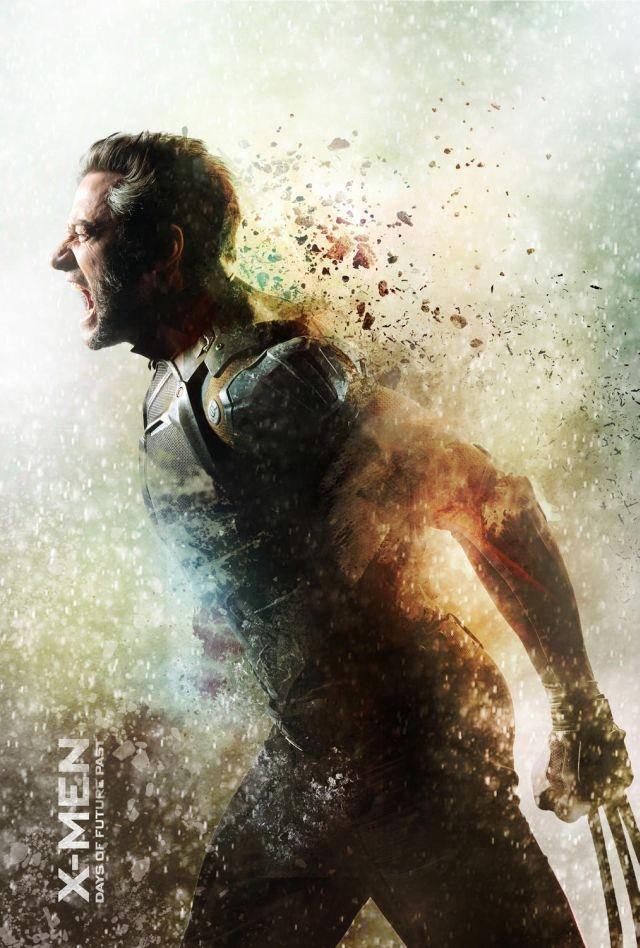 X-Men: Giorni di un futuro passato: Character poster dedicato a Hugh Jackman/Wolverine