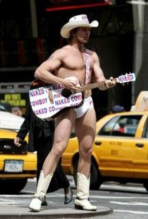 Una foto di The Naked Cowboy