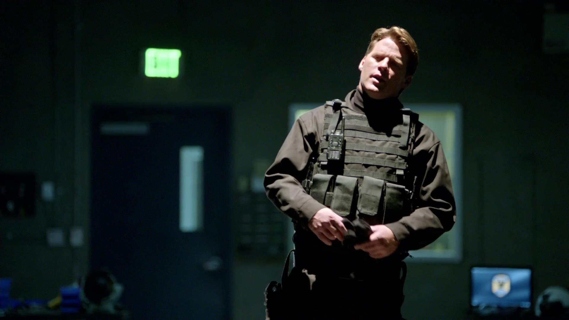 Arrow: Ben Browder in una scena dell'episodio La prova, prima stagione