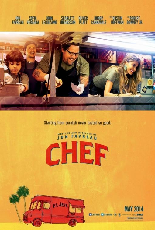 Chef - La ricetta perfetta: la locandina del film