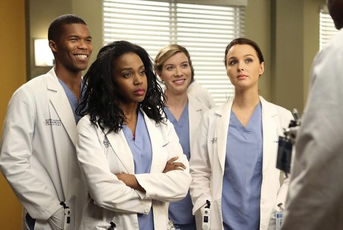 Grey's Anatomy: Jerrika Hinton, Gaius Charles, Camilla Luddington, Tessa Ferrer nell'episodio I'm Winning