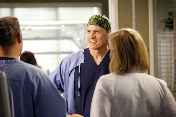 Grey's Anatomy: Patrick Fabian in una scena dell'episodio You Be Illin'