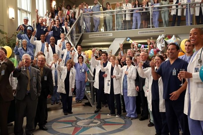 Grey's Anatomy: un momento dell'episodio I'm Winning