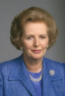 Una foto di Margaret Thatcher