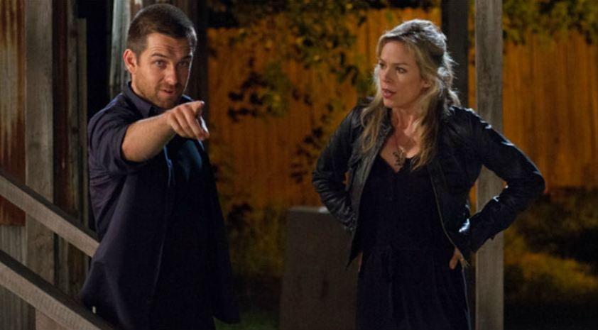 Banshee: Antony Starr in un momento dell'episodio The Rave della prima stagione