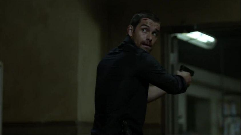 Banshee: Antony Starr in una scena dell'episodio A Mixture of Madness