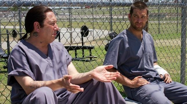 Banshee: Antony Starr in una scena dell'episodio Wicks