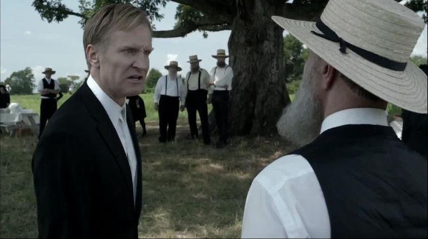 Banshee: un momento dell'epispdio We Shall Live Forever della prima stagione