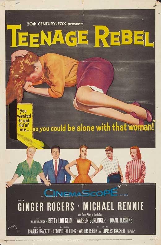 Gioventù ribelle: la locandina del film