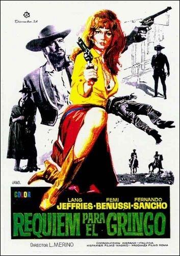 Requiem per un gringo: la locandina del film
