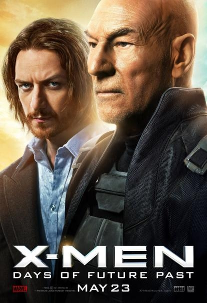 X-Men: Days Of Future Past: il character poster di Patrick Stewart e James McAvoy