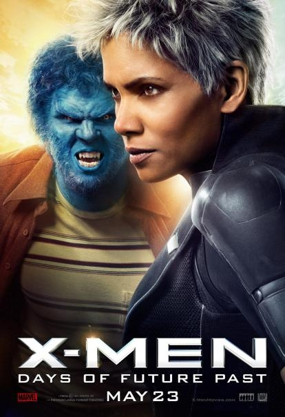 X-Men: Days Of Future Past: il nuovo character poster di Halle Berry e Nicholas Hoult