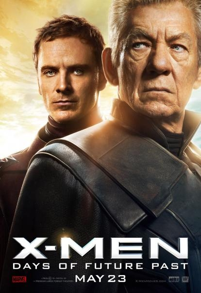 X-Men: Days Of Future Past: il nuovo poster di Magneto e Magneto, alias Ian McKellen e Michael Fassbender