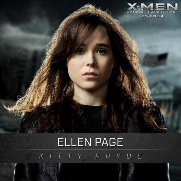 X-Men: Days Of Future Past: Un'immagine promozionale di Ellen Page