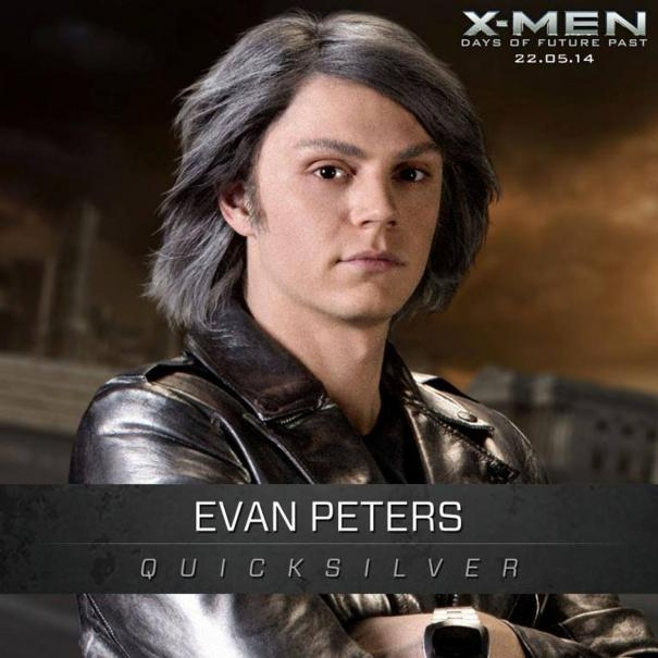 X-Men: Days Of Future Past: Un'immagine promozionale di Evan Peters