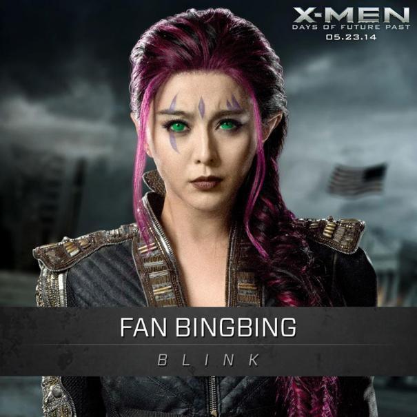 X-Men: Days Of Future Past: Un'immagine promozionale di Fan Bingbing