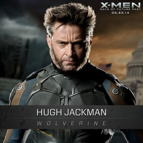 X-Men: Days Of Future Past: Un'immagine promozionale di Hugh Jackman