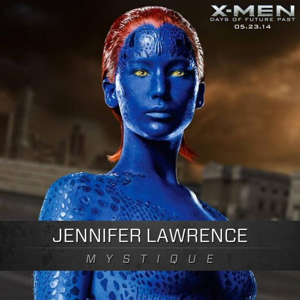 X-Men: Days Of Future Past: Un'immagine promozionale di Jennifer Lawrence