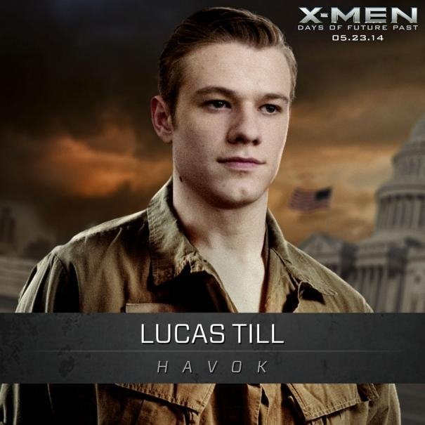 X-Men: Days Of Future Past: Un'immagine promozionale di Lucas Till