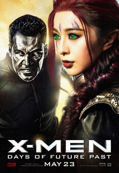 X-Men: Giorni di un futuro passato - Character poster con Daniel Cudmore e Fan Bingbing