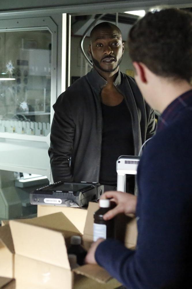 Agents of S.H.I.E.L.D.: B.J. Britt nell'episodio Providence